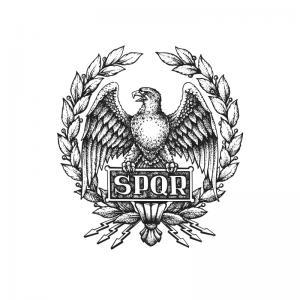 SPQR symbol of Roman Empire