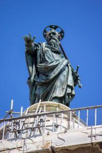 St. Paul Statue, Column of Marcus Aurelius