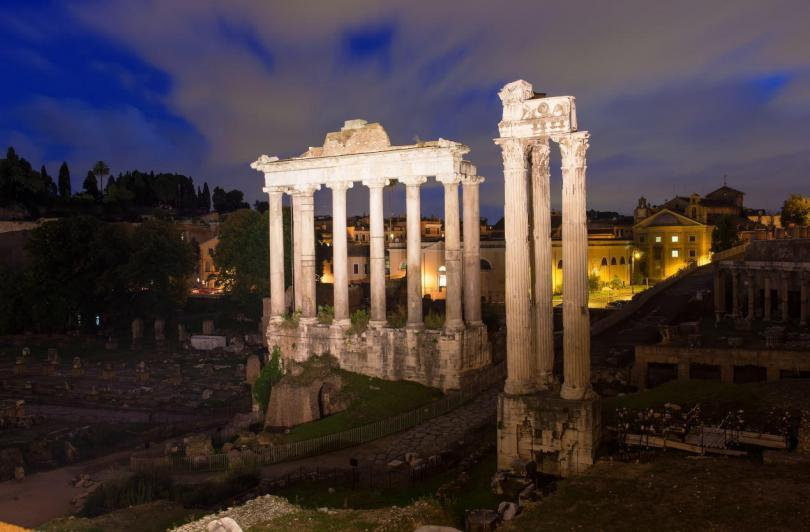 Temple of Saturn and Temple of Concord