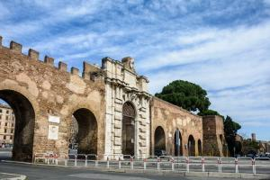 The Gate of San Giovanni in the Aurelian Walls.