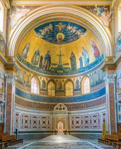 The apse of the Basilica of Saint John Lateran in Rome