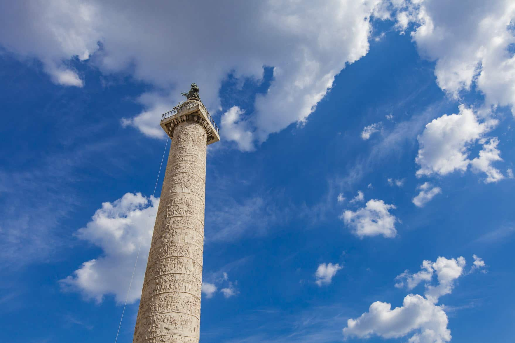 Trajan's Column is a Roman triumphal column that commemorates Roman emperor Trajan victory in the Dacian Wars