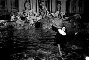 Trevi Fountain, 1960s