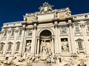 Trevi Fountain in Rome - Italy.