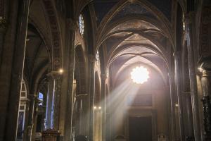Vatican to Colosseum - Interior of Santa Maria sopra Minerva