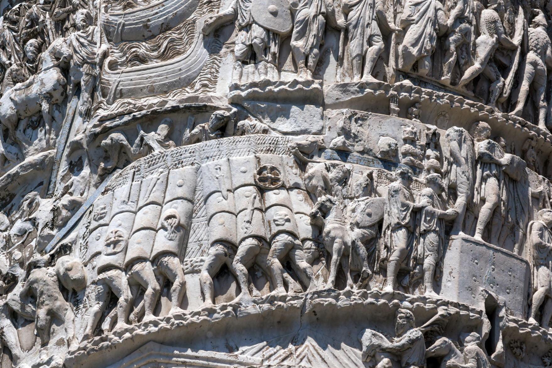 Reliefs of Column of Marcus Aurelius