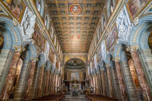 Basilica of San Marco near Venezia Palace and Campidoglio in Rome, Italy. (2)