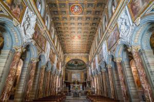 Basilica of San Marco near Venezia Palace and Campidoglio in Rome, Italy. (2)