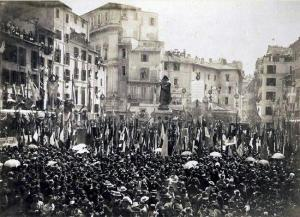 Campo de' Fiori, 1889