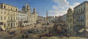 Gaspar van Wittel - Piazza Navona, Rome 1699.