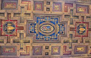 Ceiling of Santa Maria in Aracoeli