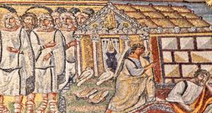 Details from church - Dream of Joseph - Presentation in the Temple.