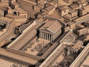 Forum of Caesar - 3D Reconstruction Sketch