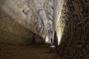Inside Nero's Domus Aurea - Rome, Italy