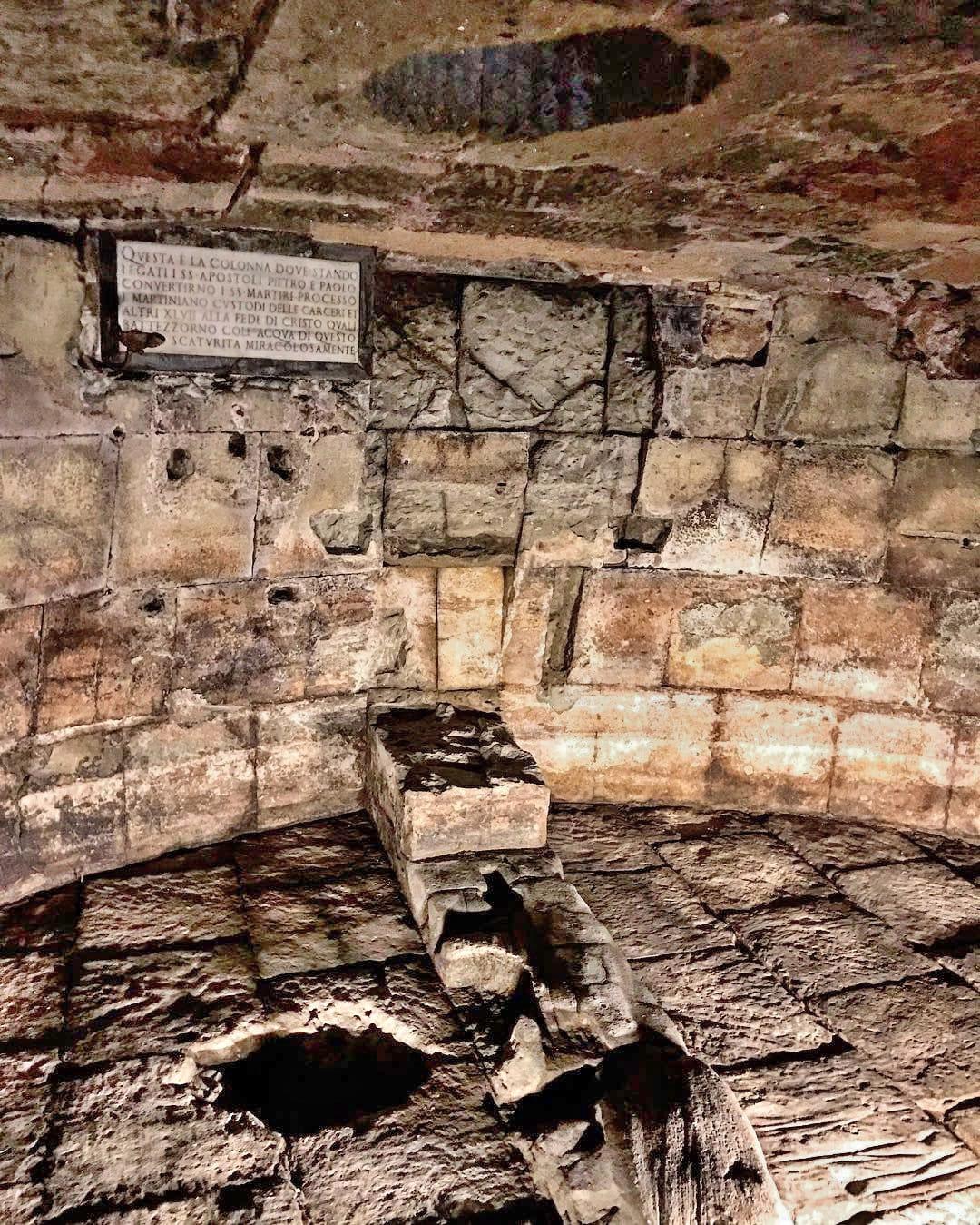 Mamertine Prison Inside