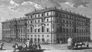 Palazzo di Propaganda Fide in old photos