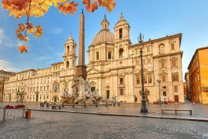 Piazza Navona in Rome, Italy