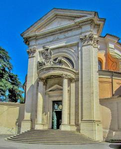 Sant'Andrea al Quirinale - Entrance of church