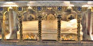 St. Catherine of Siena, d. 1380.