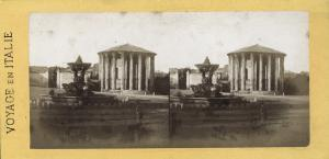 The Temple of Hercules Victor , ca 1870