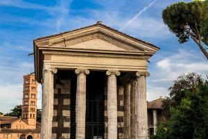 Temple of Portunus in the Forum Boarium (Rome, Italy)