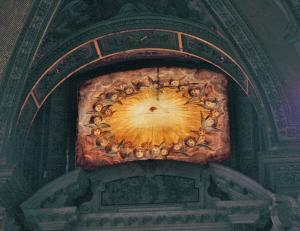 The All Seeing Eye - Eye's God in Santa Maria Maggiore, Rome, Italy