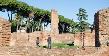 The Domus Flavia - Flavian Palace