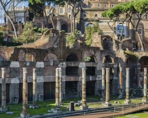 The Forum of Caesar, also known as Forum Iulium or Forum Julium.