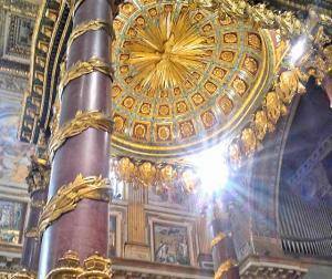 The Triumphal Arch at S. Maria Maggiore
