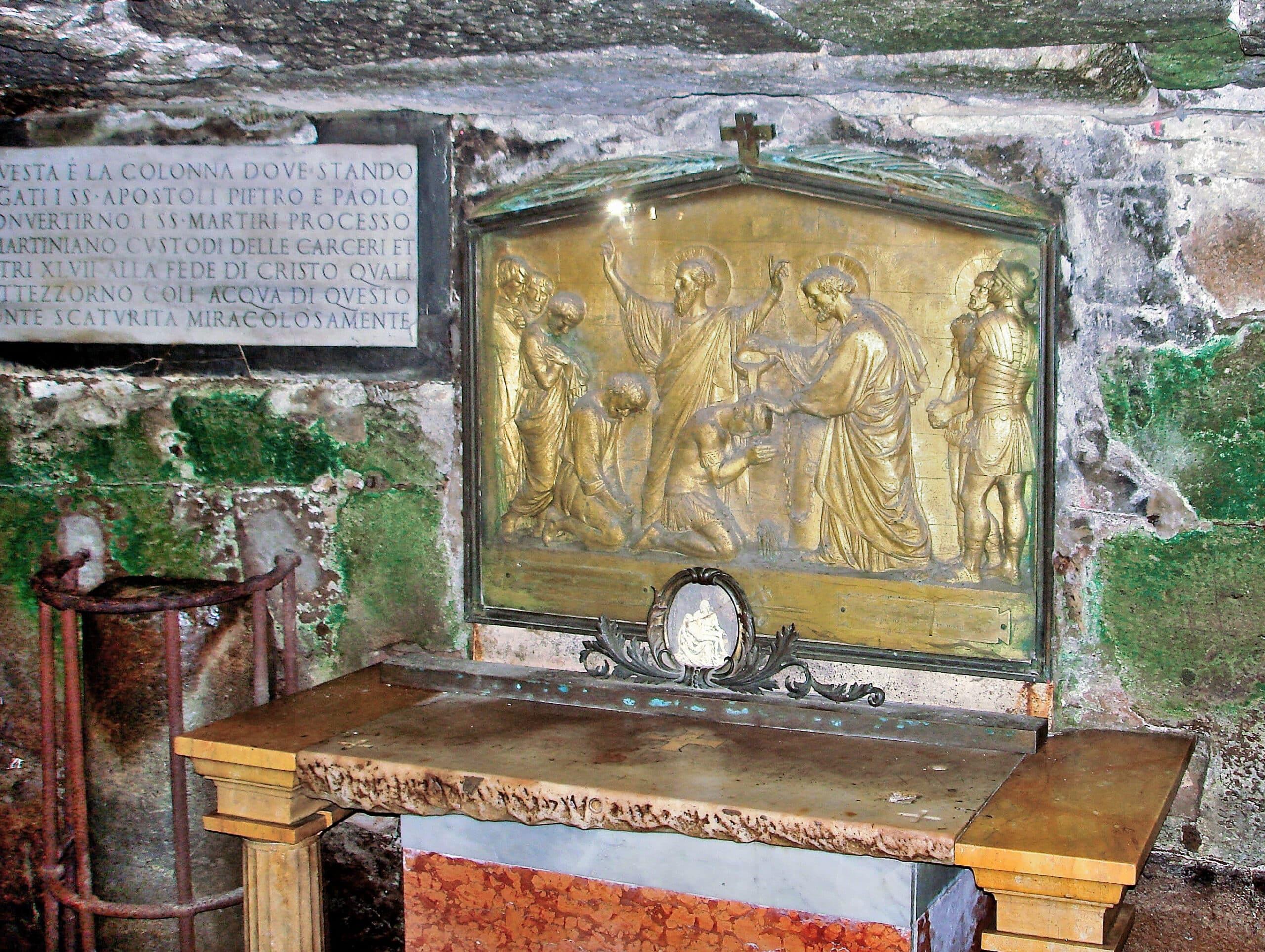 Mamertine Prison Colosseum Rome Tickets