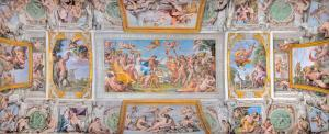 """""""The Loves of the Gods"""" painted by Annibale Carracci"""