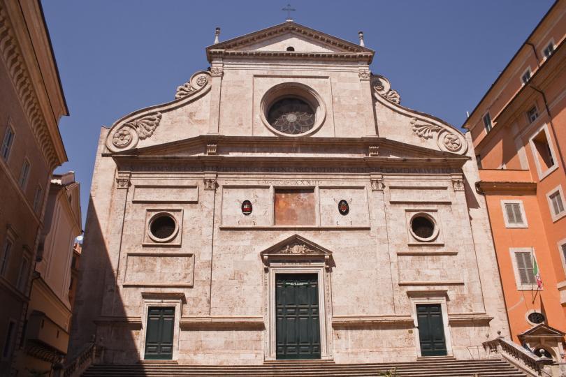 Basilica of Sant Agostino in Rome.