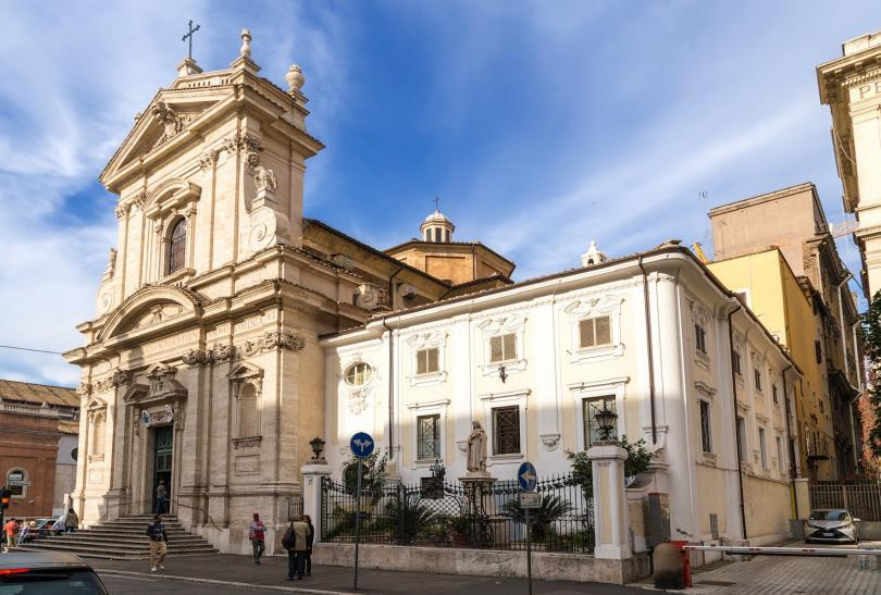 Church of Santa Maria della Vittoria, 1605 - 1622,Rome, Italy.