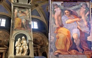 Prophet Isaiah by Raphael, Basilica of Sant Agostino, Rome