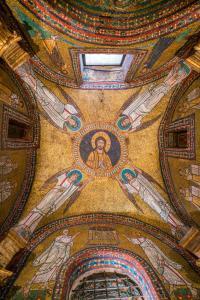 Saint Zeno Chapel in the Basilica of Santa Prassede in Rome, Italy.