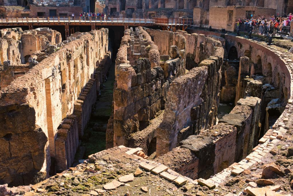 Ancient Rome Tour with Colosseum Underground - Deep circular galleries of Colosseum, Flavian Amphitheater