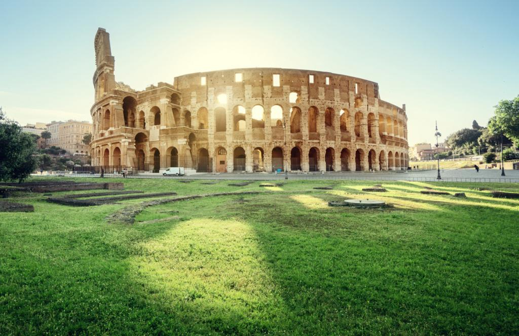 Colosseum Priority Entrance + Arena Floor, Roman Forum and Palatine Hill - Inside of Colosseum in Rome, Italy