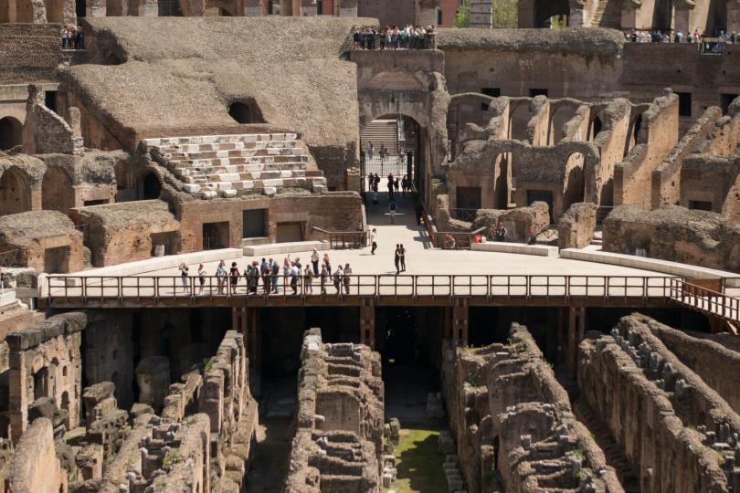 Colosseum Priority Entrance + Arena Floor, Roman Forum and Palatine Hill - inside the Colosseum in Rome. Great architectonical landmark. (2)