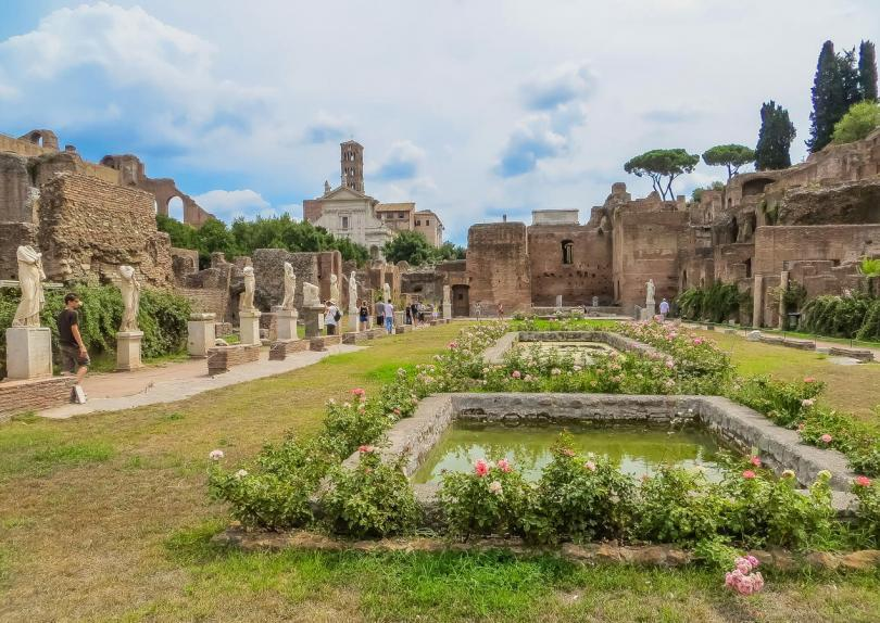 Colosseum and Ancient Rome Walking Tour- Ancient Roman Forum - House of the Vestal Virgins