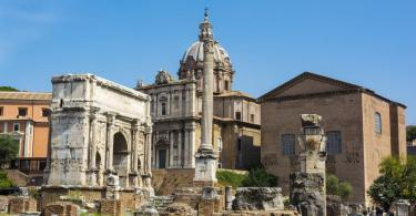 Colosseum and Ancient Rome Walking Tour - Arch of Septimius Severus and the Curia in Roman Forum, Rome