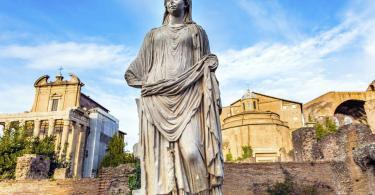 Colosseum and Ancient Rome Walking Tour - House of the Vestals - Rome, Italy.