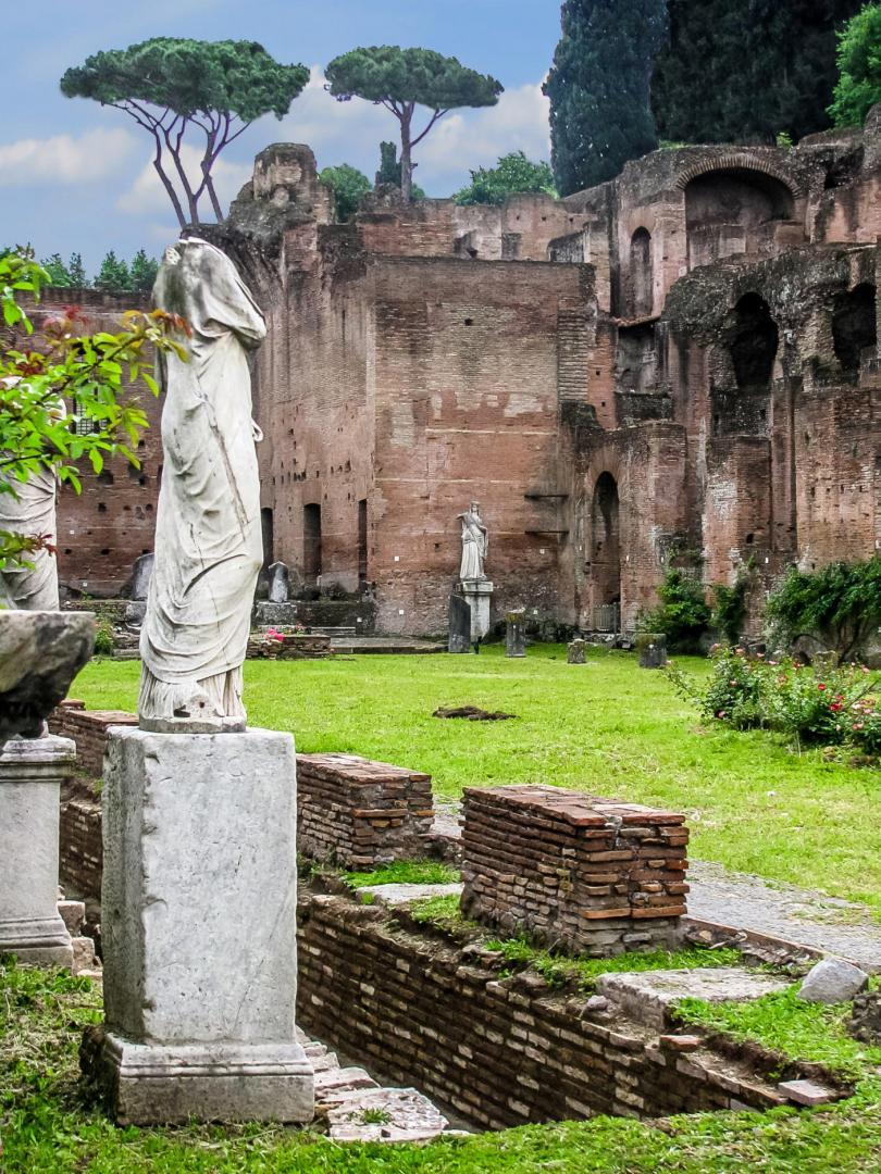 Colosseum and Ancient Rome Walking Tour - Rome, Italy - Roman Forum-Vestal Virgins