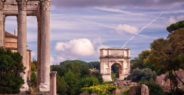 Colosseum and Ancient Rome Walking Tour - The Arch of Titus in Roman Forum, Rome, Italy--