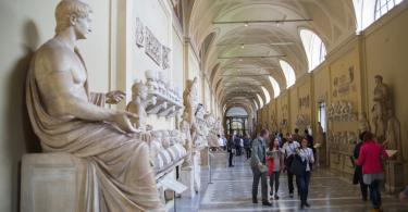 Early Entry Vatican Museums and Small-Group Tour with St. Peter's and Sistine Chapel - Roman marble sculptures from Museums of Vatican. Exhibition hall with lots to people