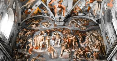 Early Entry Vatican Museums and Small-Group Tour with St. Peter's and Sistine Chapel - the Last Judgment and the ceiling of the Sistine chapel in the Vatican Museum