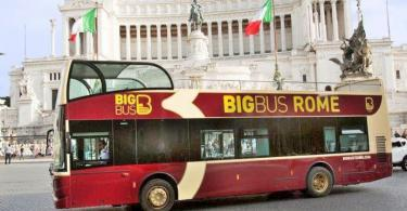 Hop-On and Hop-Off Big Bus Classic Ticket