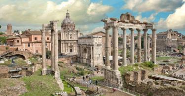 Omnia Card - Vatican & Rome City Pass +Transportation - Beautiful Roman Forum-Temple of Saturn