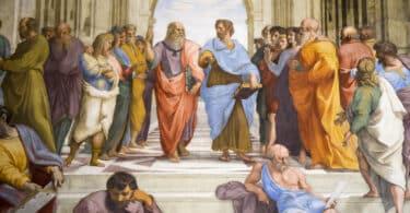 Omnia Card - Vatican & Rome City Pass +Transportation - Raphael, detail of Plato and Aristotle in center, School of Athens, 1509-1511, fresco (Stanza della Segnatura, Palazzi Pontifici, Vatican)