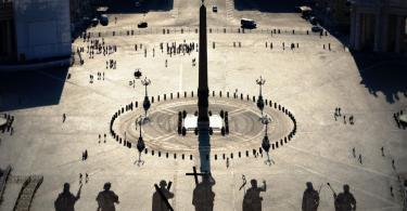 Rome Angels and Demons Guided Half-Day Tour - St. Peter square - Vatican City Map