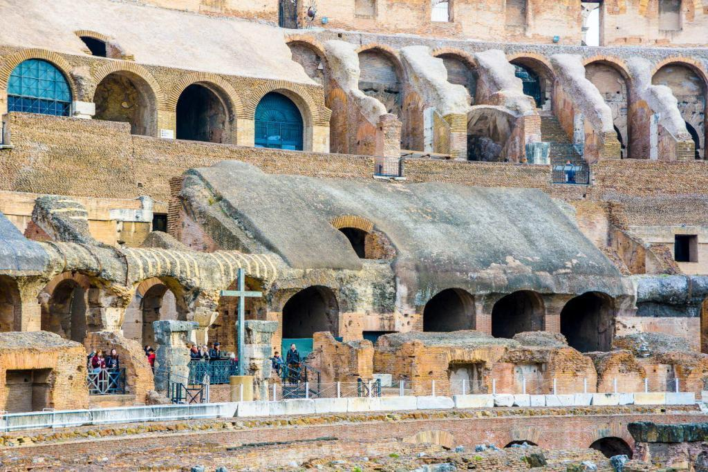 Seating in the Colosseum - Colosseum & Roman Forum and Palatine Package